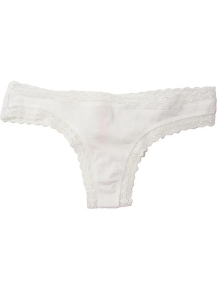 Chloti albi Victoria's Secret Thong