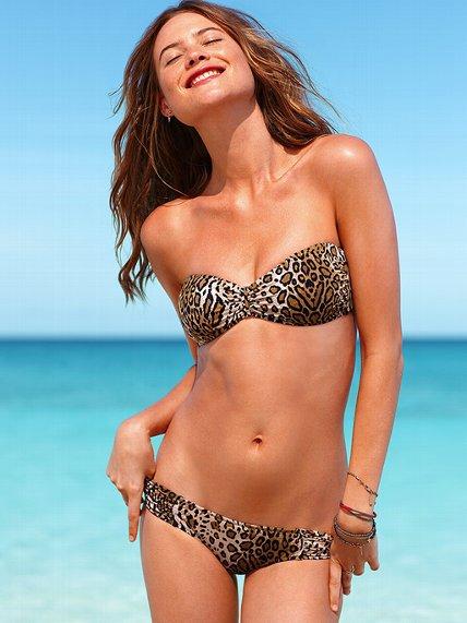 Costum de baie print leopard - Victoria's Secret