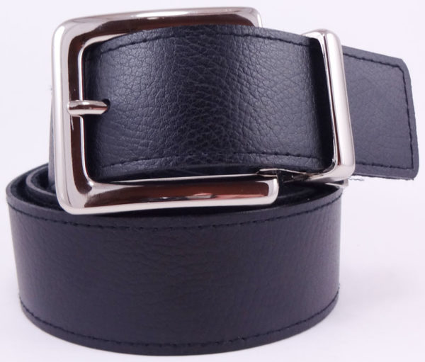 Curea dama Calvin Klein reversibila neagra cu catarama argintie