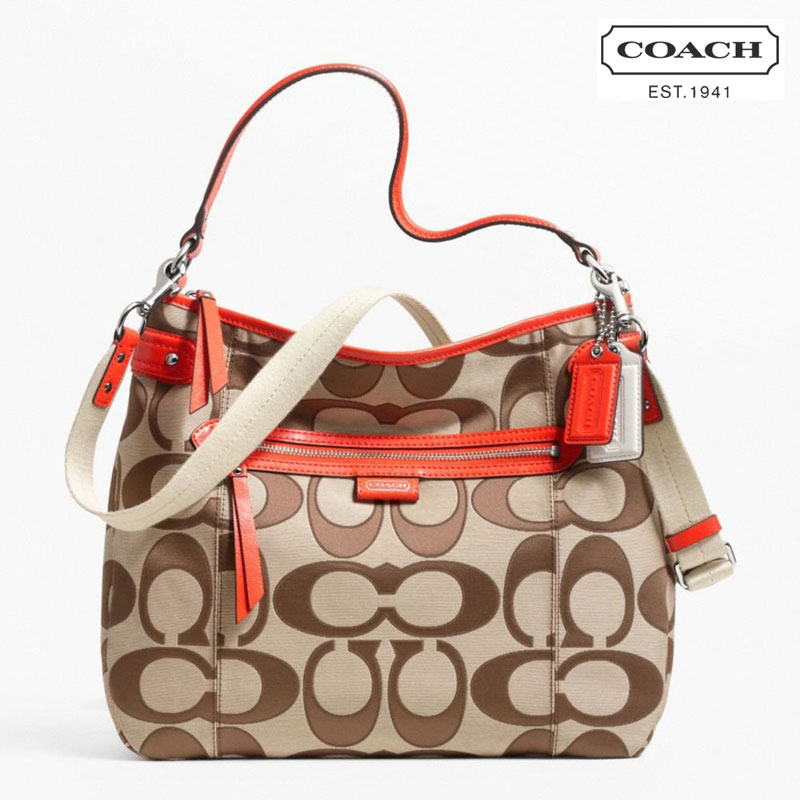 Geanta Coach Daisy Outline Signature Convertible Hobo- fata