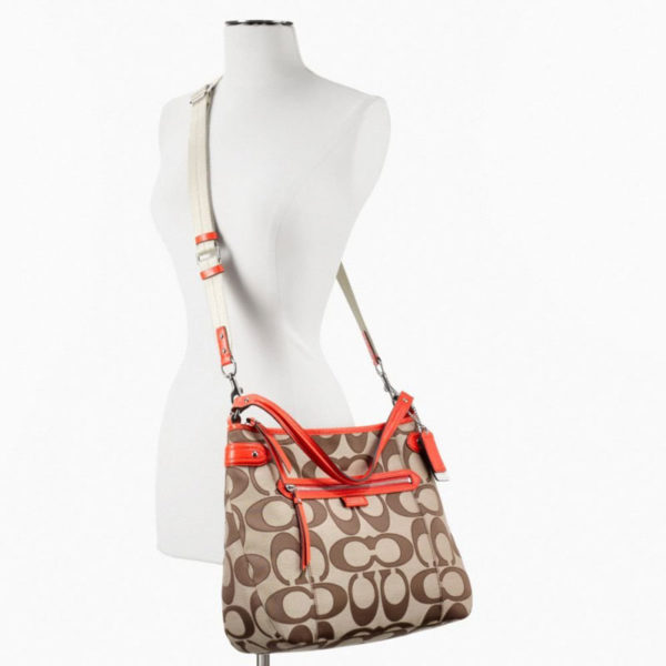 Geanta Coach Daisy Outline Signature Convertible Hobo