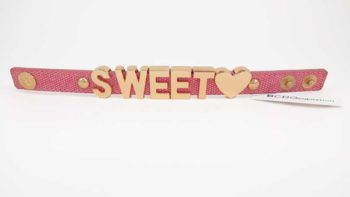 Bratara BCBGeneration Affirmation bracelet SWEET HEART roz