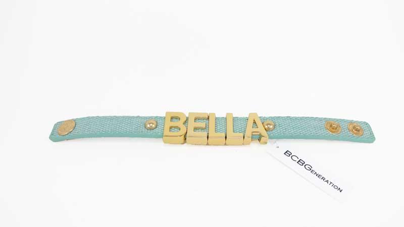 Bratara BCBGeneration Affirmation bracelet BELLA verde