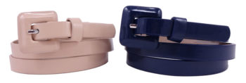 Set doua curele dama Nine West - cream & navy