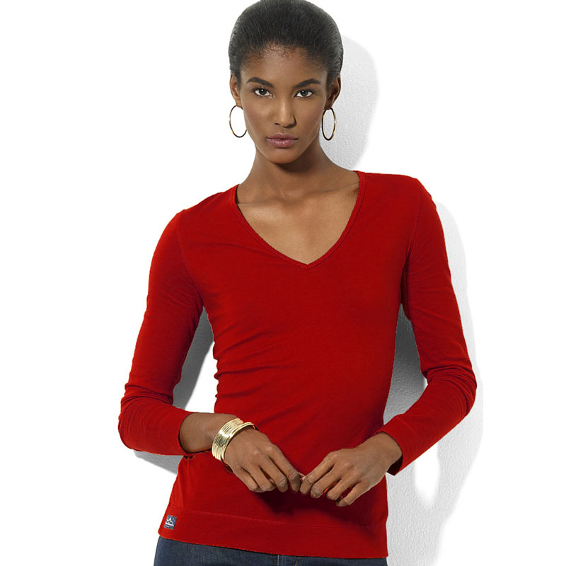 Bluza cu anchior si maneca lunga Ralph Lauren - Heritage Red