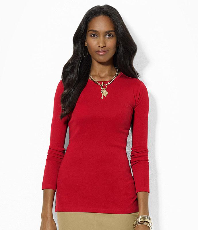 Bluza cu maneca lunga Ralph Lauren - Heritage Red