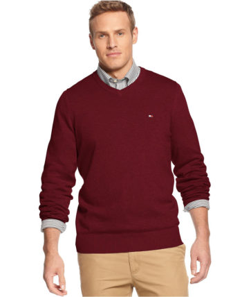 Pulover barbatesc Tommy Hilfiger Sonoma Red