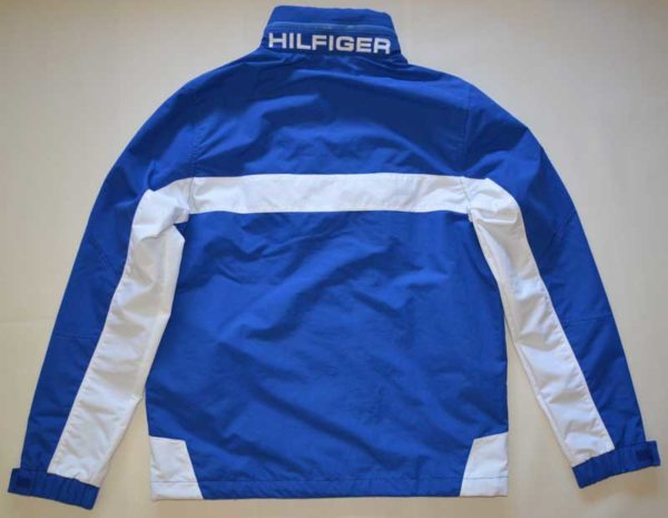 Geaca barbateasca Tommy Hilfiger Yachting Jacket albastra - back