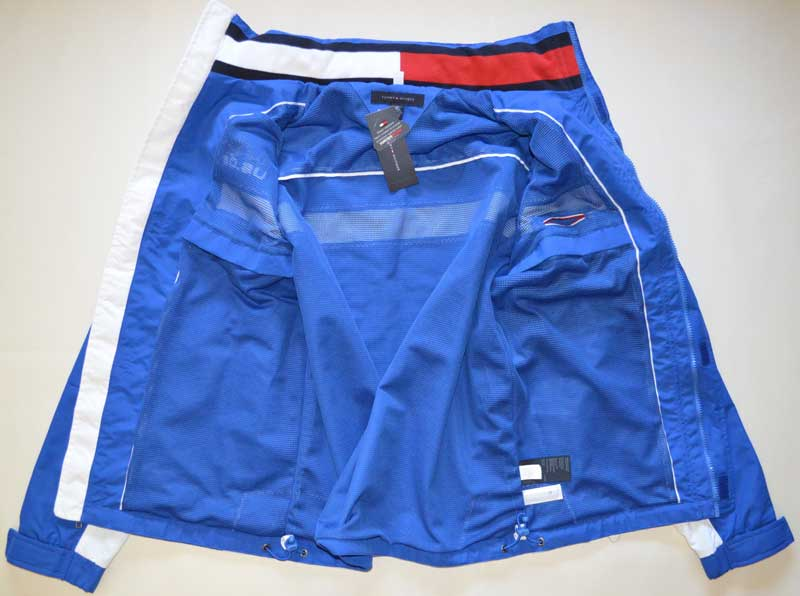 Geaca barbateasca Tommy Hilfiger Yachting Jacket albastra - interior