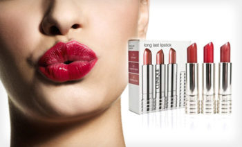 Set 3 rujuri Clinique Long Last Lipstick