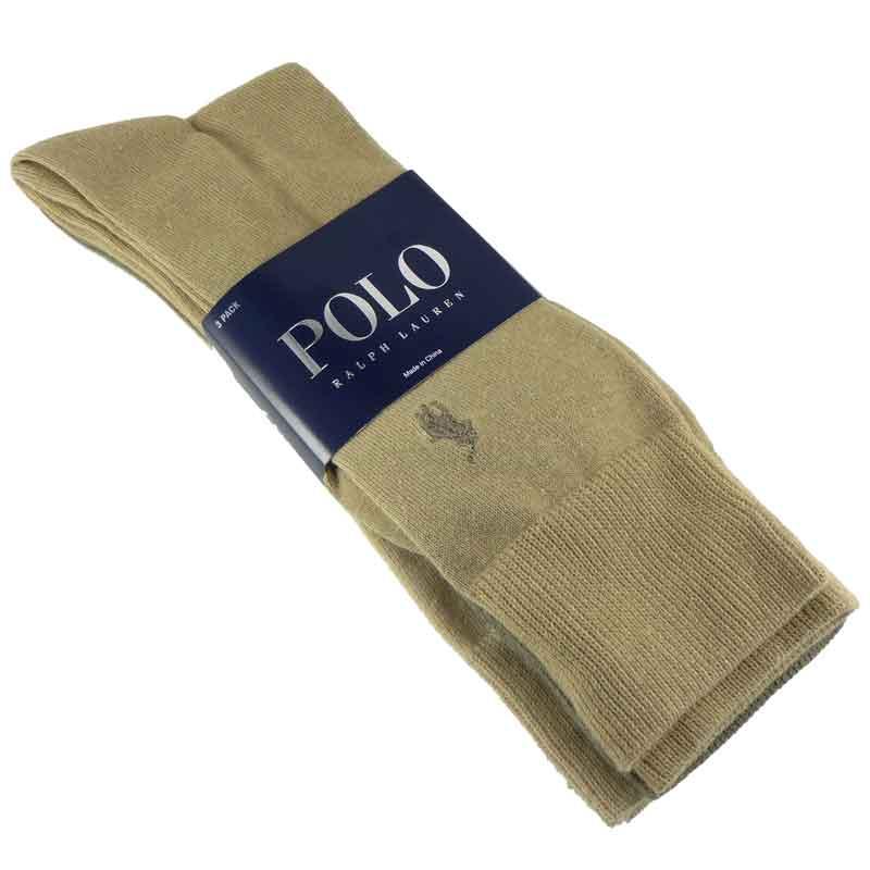 Set 3 perechi ciorapi barbatesti Polo Ralph Lauren culori deschise
