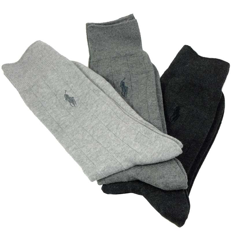 Set 3 perechi ciorapi Polo Ralph Lauren asortati