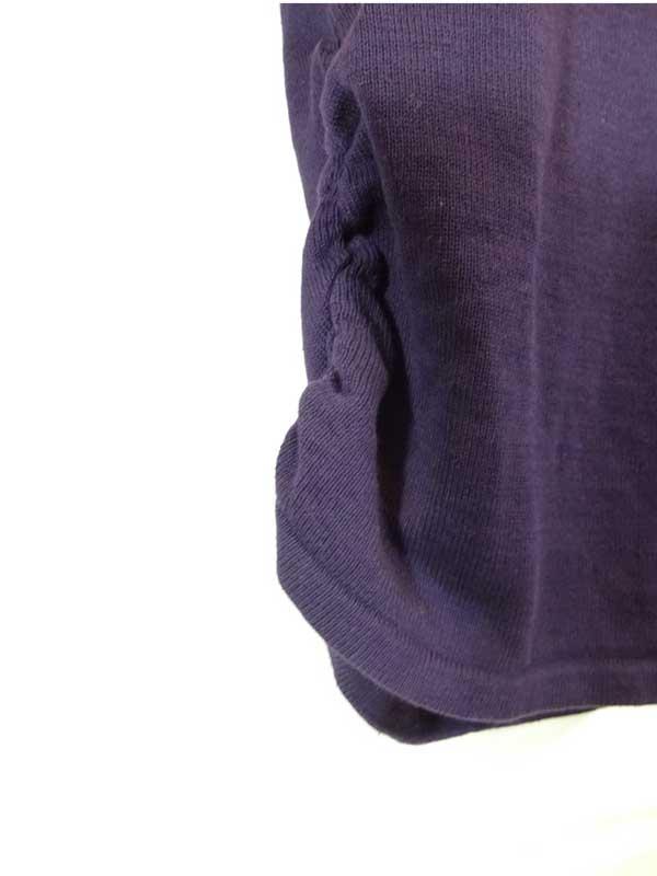 Pulover dama Calvin Klein cowl neck - detaliu laterala