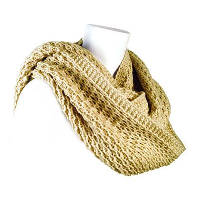 Modena hood & loop scarf