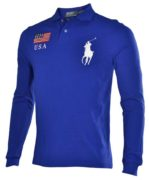 Bluza cu maneca lunga Polo Ralph Lauren Big Poney