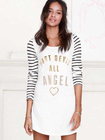 Camasa de noapte Victoria's Secret Angel Sleep Tee