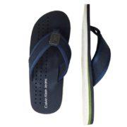 Papuci plaja Calvin Klein bleumarin