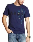Tricou Guess Army Medal Graphic T-shirt