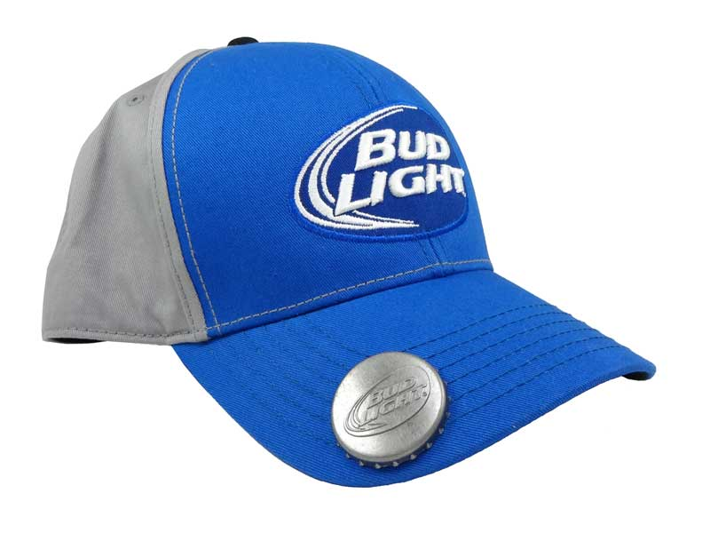 Sapca Budweiser Bud Light cu desfacator de bere incorporat