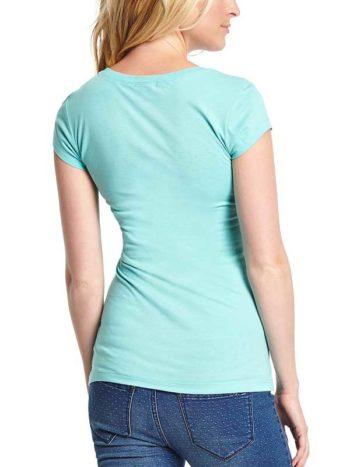 Tricou verde dama Guess Renna Tee