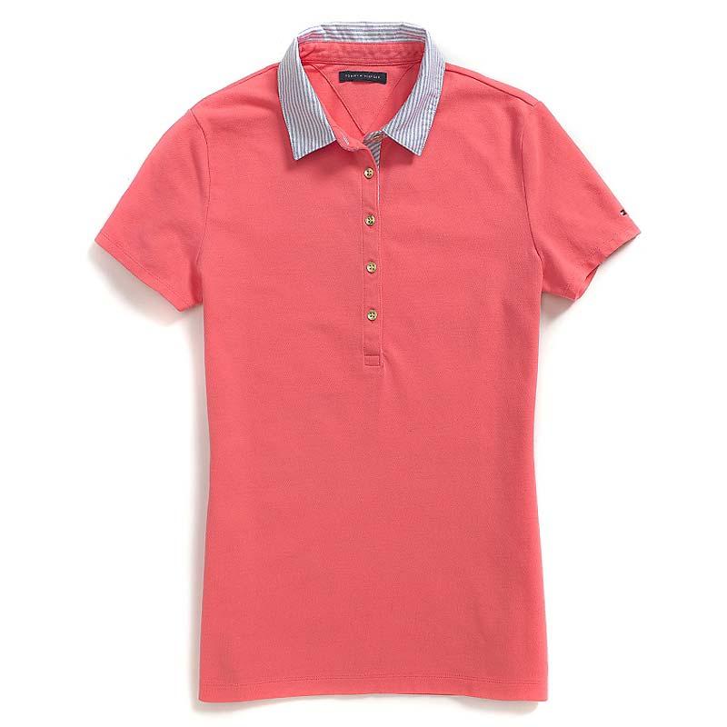 Bluza polo Tommy Hilfiger roz