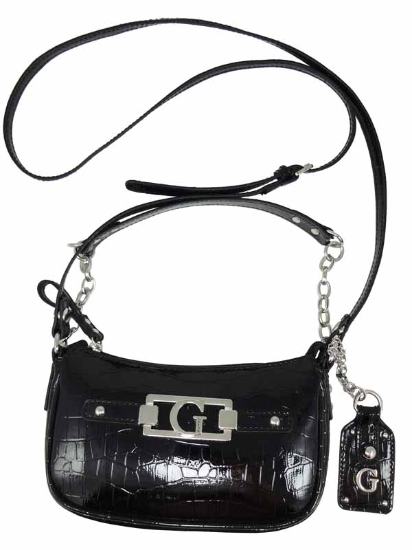 Geanta Guess Frontier Mini crossbody neagra