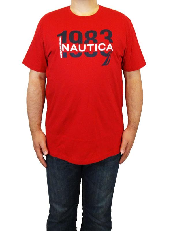 Tricou Nautica rosu