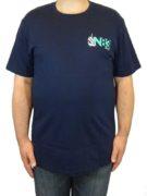 Tricou bleumarin Nautica N83 – fata