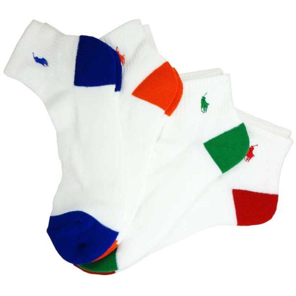 Set 4 perechi sosete sport Polo Ralph Lauren - detaliu