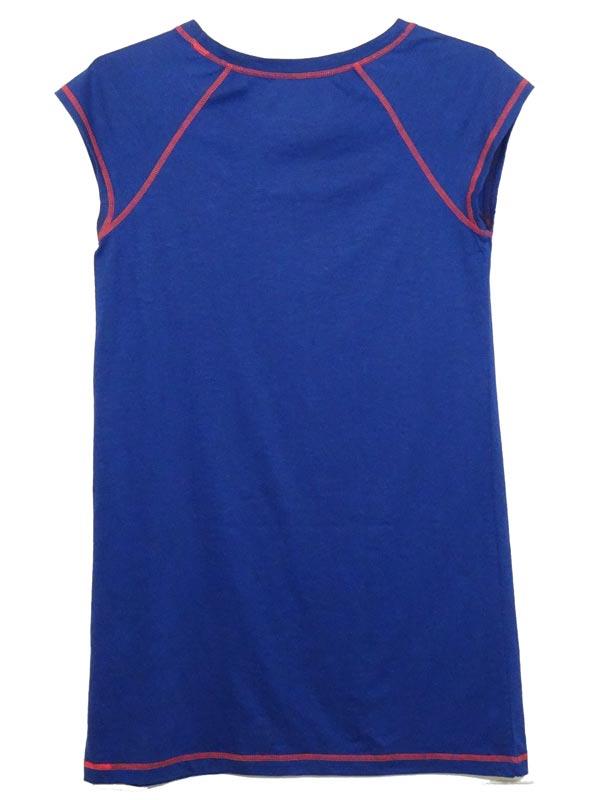 Camasa de noapte albastra Tommy Hilfiger - spate