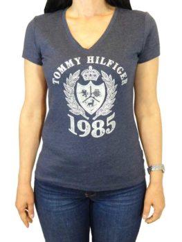 Tricou Tommy Hilfiger bleumarin