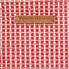 Geanta Armani Exchange Printed Canvas Tote Red - detaliu