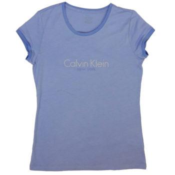 T-shirt dama Calvin Klein New York lila