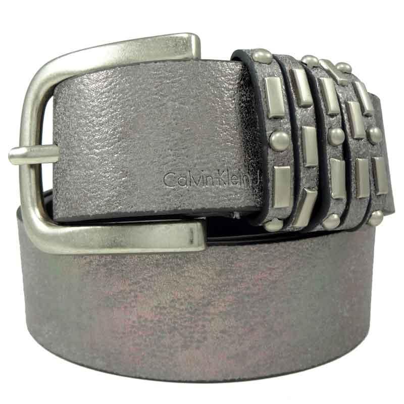 Curea de blugi argintie Calvin Klein Jeans