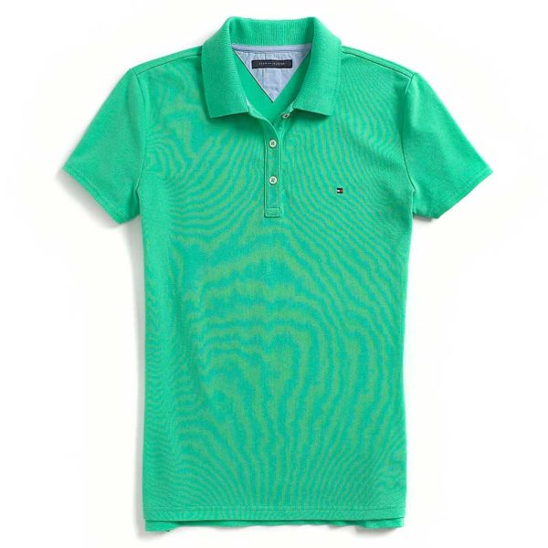 Bluza polo Tommy Hilfiger verde