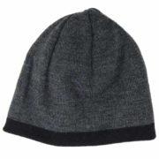 Caciula reversibila neagra/gri Calvin Klein
