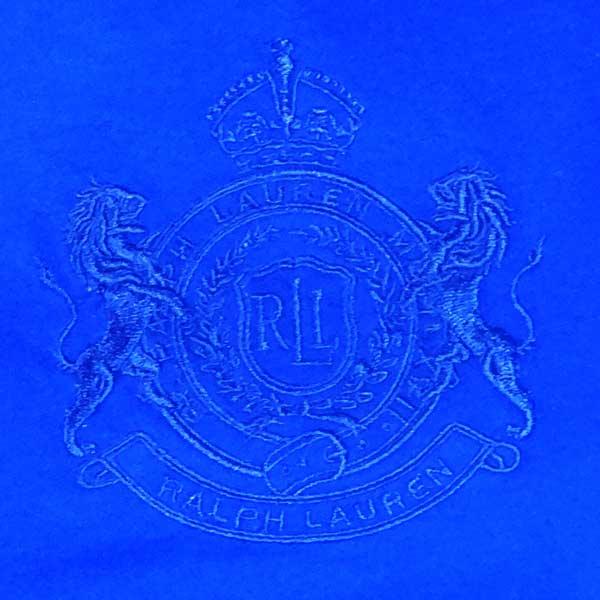 Bluza cu maneca lunga Lauren Ralph Lauren - detaliu blazon