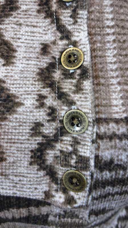Bluza dama Ralph Lauren Jeans Co - detaliu logo