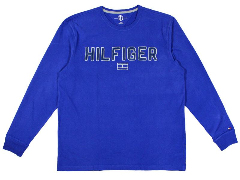 Tricou barbatesc cu maneca lunga Tommy Hilfiger albastru