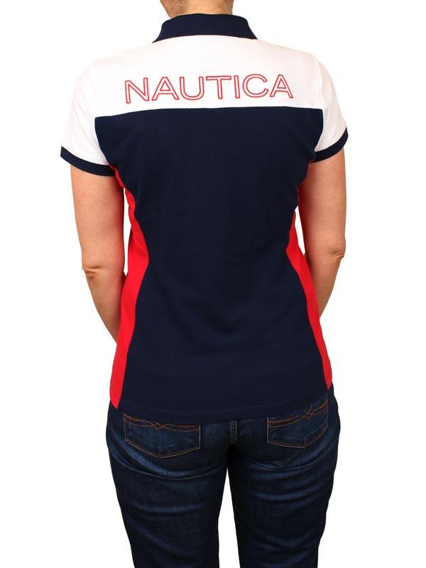 Tricou dama polo Nautica - spate