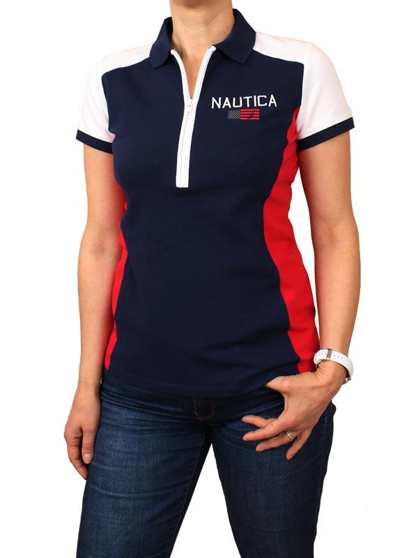 Tricou dama polo Nautica