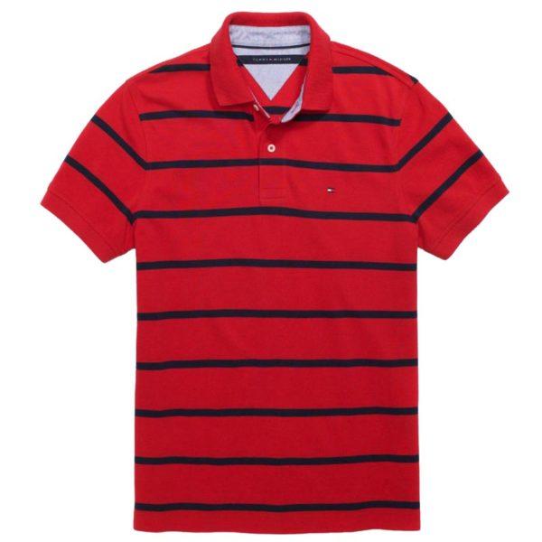 Tricou barbatesc Tommy Hilfiger custom fit polo