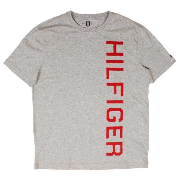 Tricou barbatesc Tommy Hilfiger grey heather