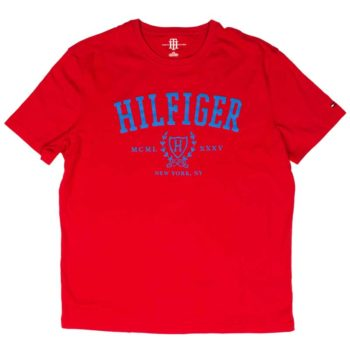 Tricou barbatesc Tommy Hilfiger swiss red