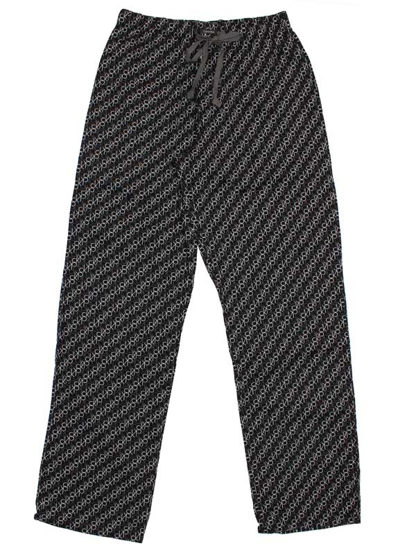 Pantaloni Calvin Klein cotton lounge pants negri