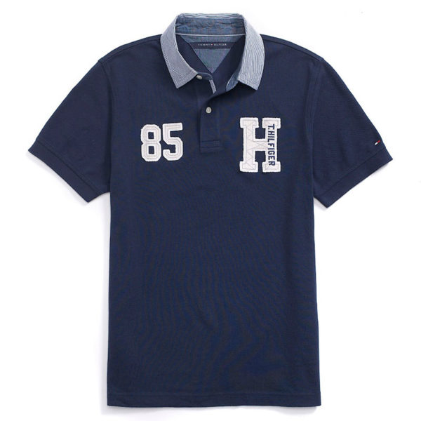 Tricou barbatesc Tommy Hilfiger custom fit polo