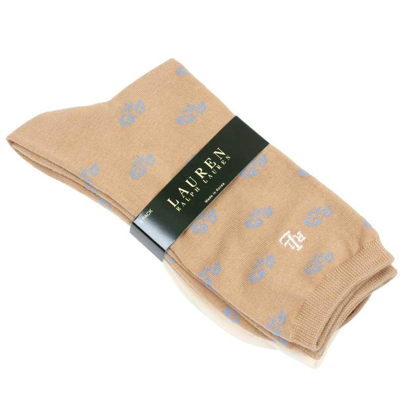 Set 2 perechi ciorapi asortati Lauren Ralph Lauren