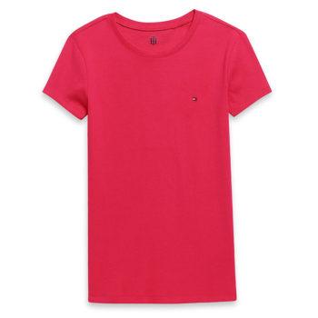 Tricou dama Tommy Hilfiger roz - blush pink