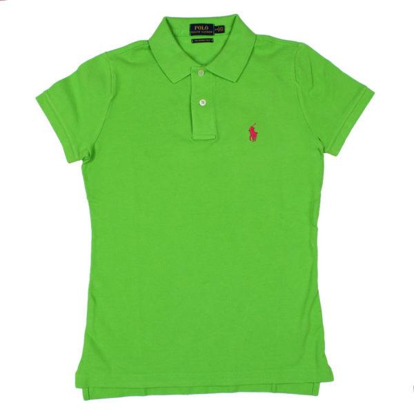 Bluza dama Ralph Lauren Skinny Polo verde