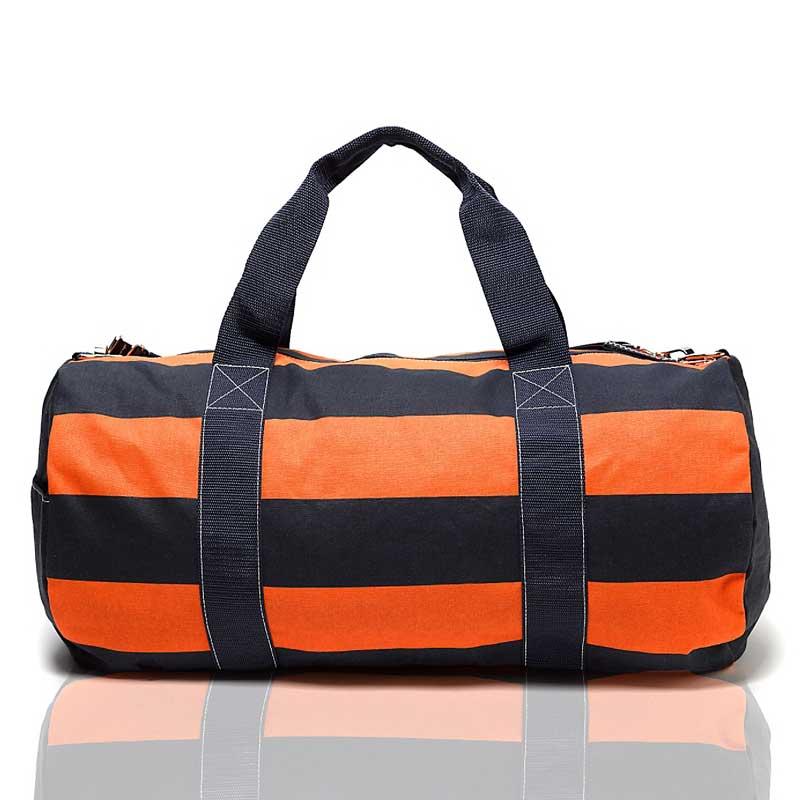 Geanta mare sport Tommy Hilfiger - navy orange - spate